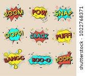 illustration of words speech... | Shutterstock . vector #1022768371