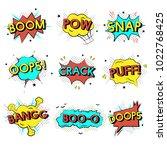 illustration of words speech... | Shutterstock . vector #1022768425