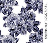 abstract elegance seamless... | Shutterstock . vector #1022771431