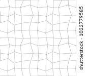 retro lineart pattern. vector... | Shutterstock .eps vector #1022779585