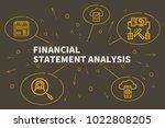 conceptual business...   Shutterstock . vector #1022808205