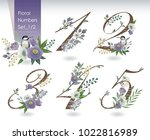 vector illustration of floral... | Shutterstock .eps vector #1022816989