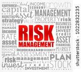 risk management word cloud... | Shutterstock .eps vector #1022832235