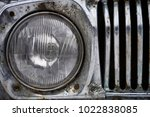 Headlight Of Old Russian Car...