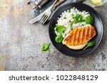 chicken breast or fillet ...   Shutterstock . vector #1022848129