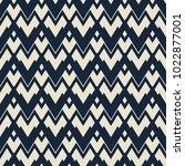seamless geometric chevron... | Shutterstock .eps vector #1022877001