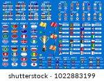 football world championship... | Shutterstock .eps vector #1022883199