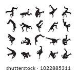 vector illustration  big set of ... | Shutterstock .eps vector #1022885311