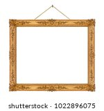Old Wooden Picture Frame...
