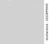 seamless pinstripe wave pattern ... | Shutterstock .eps vector #1022899045