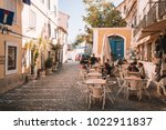lisbon  portugal. august 30 ... | Shutterstock . vector #1022911837