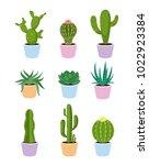 vector illustration set of... | Shutterstock .eps vector #1022923384