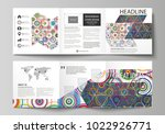 set of business templates for... | Shutterstock .eps vector #1022926771
