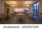 turin  italy   circa february ... | Shutterstock . vector #1022927335