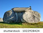 rock house in fafe mountains ... | Shutterstock . vector #1022928424