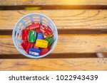 colorful of sharpeners in... | Shutterstock . vector #1022943439