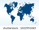 political world map   Shutterstock .eps vector #1022951065