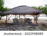 beautiful ladscape of gili meno ... | Shutterstock . vector #1022958085