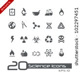 science icons    basics | Shutterstock .eps vector #102297451