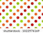 watercolor red  green and... | Shutterstock . vector #1022976169
