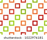 watercolor red  green and... | Shutterstock . vector #1022976181