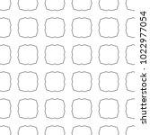 seamless ornamental vector... | Shutterstock .eps vector #1022977054