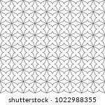 seamless geometric ornamental...   Shutterstock .eps vector #1022988355