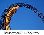 roller coaster | Shutterstock . vector #102298999