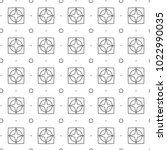 seamless geometric ornamental... | Shutterstock .eps vector #1022990035