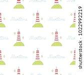navy vector seamless patterns....   Shutterstock .eps vector #1022992219
