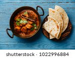 chicken tikka masala spicy... | Shutterstock . vector #1022996884
