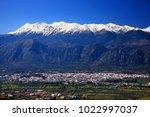 sparta town  lakonia ... | Shutterstock . vector #1022997037