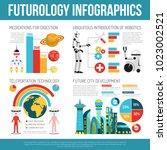 future urban infrastructure... | Shutterstock .eps vector #1023002521
