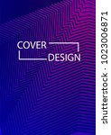 simple cover design simple... | Shutterstock .eps vector #1023006871