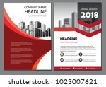red design brochure business... | Shutterstock .eps vector #1023007621