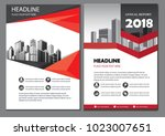 red design brochure business... | Shutterstock .eps vector #1023007651