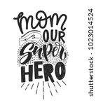 motivational quote in vector.... | Shutterstock .eps vector #1023014524