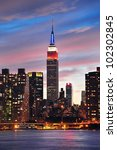 new york city  ny   jul 4 ... | Shutterstock . vector #102302845