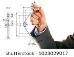 mechanical engineering concept | Shutterstock . vector #1023029017