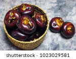 water chestnut for aquatic... | Shutterstock . vector #1023029581