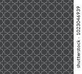 seamless vintage trellis... | Shutterstock .eps vector #1023046939