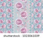 seamless pattern. decorative... | Shutterstock . vector #1023061039