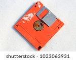 Abandoned Broken Floppy Disk...