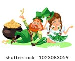 Saint Patrick Day Characters ...