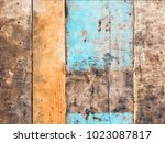 background  texture. old... | Shutterstock . vector #1023087817