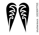 tattoo tribal vector design. | Shutterstock .eps vector #1023097705