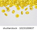bitcoin  cryptocurrency banner  ... | Shutterstock .eps vector #1023100837