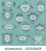 vintage frames and design... | Shutterstock .eps vector #102310639