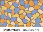 vector seamless background... | Shutterstock .eps vector #1023109771