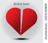 icon image. heart graphic.... | Shutterstock .eps vector #1023140809